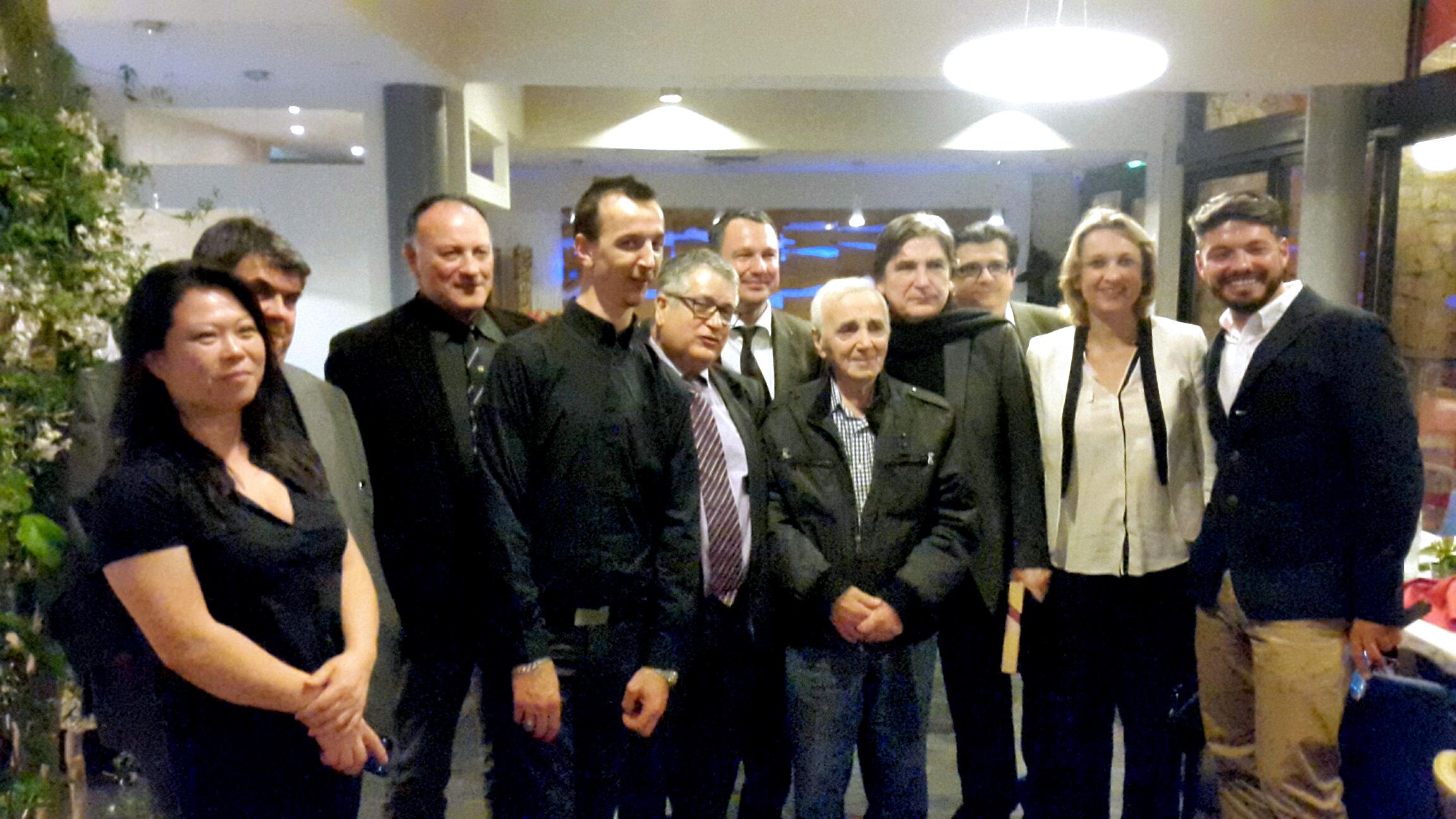 Serge Lama, Charles Aznavour etc ... au Restaurant le Saint-Mart à Montélimar