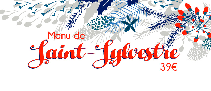 Menu de la Saint-Sylvestre !